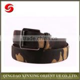 Army men belt, eco-friendly pu leather military belt for army clothes with buckle, uniform belt