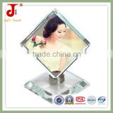 New Fashion With High Quality Crystal Rotating 3d Digital Home&office&outdoor decoration Cube Photo Frame
