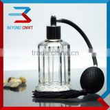 black spray glass attar oil bottle ,cristal perfume bottle wedding gifts                                                                         Quality Choice