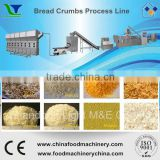 CE Industrials Automatic Double Screw Extruded Granule Bread Crumb Equipment