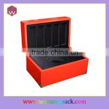 Handmade wood gift box custom lacquer gift packaging box
