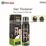 hot sale top Dexe of Hair fall treatment with no baldness of hair building fiber spray manufacturer