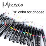 Acrylic UV Gel Design 3D Paint Nail Art Pen 16 Colors Nail Polish False tips Drawing Pen