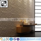 Modern Style Embossed 8009 brick design 3D Wall paper for bedroom
