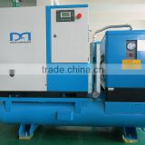 15KW stationary industrial Screw Air Compressor with freezing air dryer