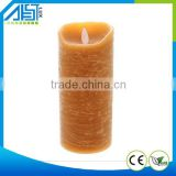 2015 New Design Promotion Hot Sale Moving wick Paraffin Wax Remote Control Flameless Led Candle