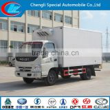 Hot selling Refrigerated Truck good price FOTON Refrigerator Truck Low Temperature Cooling van truck