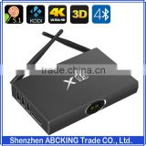 Factory Price Aluminium Best Android TV BOX Amlogic S905 Quad Core ARM A53 Android 5.1.1 Wifi Bluetooth 4.0 1G 8G 16G TV BOX 4K