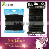 Rubber band RB021/afro ponytail/black elastic hair bands