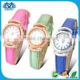 Latest Fashion Long Top Design Leather Women Special Watch