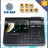 DP7000 Android POS 7inch Touch Screen with RFID / PSAM / WiFi / 3G / Thermal Printer / Barcode Reader