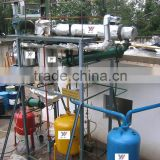 Molecular distillation waste motor oil recycled plant Crude oil from diesel