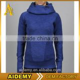 Wholesale Sportswear Hoodies Round Neck Long Sleeve Sweatwear Women Workout Hoodies athletic apparel manufature