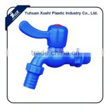 plastic dark blue color PVC hose drip system irrigation common olive garden faucet with connector