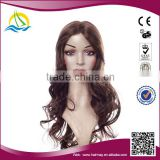 2014 New arrival High Temperature Fiber no-glue lace front wigs