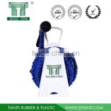 7.5m10m15m expandable magic hose with 7 pattern plastic spray gun for Europe America hose reel set nozzle
