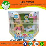 2013 New Fashion 4 Inch Real Body Mini Doll With Accessories For Baby Gift With EN71 LV0086550