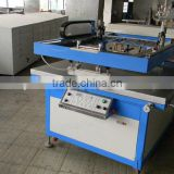 Large size flat bed screen printer