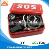 2016 new emergency products wholesale SOS survival kit most popular camping survival kits