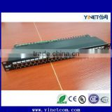 Top Quality Wallmount 24 Port Cat 6 Utp Patch Panel