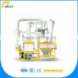 Wholesale China Factory Pingle Milling Machine , 12T/24H Complete Set Corn Flour Milling