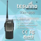 IP6 water-proof uhf 8 watts surpermarket two way radio training