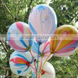 2015 Promotion beautiful colorful cloud balloon,12 inches printed balloon, Christmas day cloud balloon