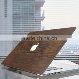 New Arrival Real Wood Hard Shell Wooden Case Print for MacBook Air 11.6 13.3 Pro Retina 12 13 15 Cover