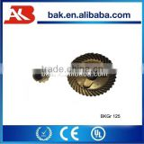 Widely-used professional design and high quality Spiral and Bevel Gears Antiwear gear with 38 tooth