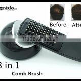 Natural Hair Loss Prevention Treatment Care Scalp Massage Salon Comb Brush Head Massager