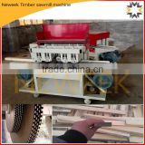 Neweek round or square log multi blade circular timber sawmill machine
