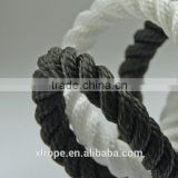 3 strands twisted nylon ship towing rope
