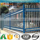 Ornamental decorative antique wrought iron fence panels