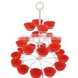 Cupcake Tree Stand for Birthdays and Other Occations 3 Tier Cupcake Holder for 24 Cupcakes and Desserts