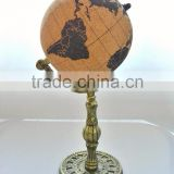 Cork globe with cast iron base