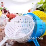 Useful plastic Colander with handle for Kitchen / Plastic Colander with handle
