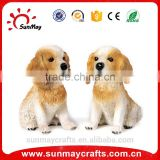 Wholesale custom funny resin dog bobble head statue for sale