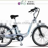 best sale popular electric bicycle 250W bafang brushless motor electric city bike for lady