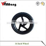 "16"" Pneumatized Wheel"