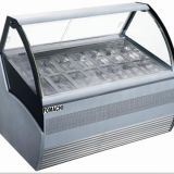 Ice Cream Showcase R404a Refrigeration Display Freezer FMX-SP200A