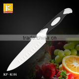 "Germany steel 1.4116 winding 6""chef knife with G10 handle black /red"