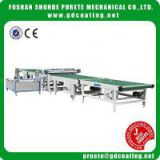 Wholesale painting uv coating , curtain coater machine, high gloss uv coating