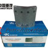 Sinotruk STR 199000340068 Rear Brake Lining