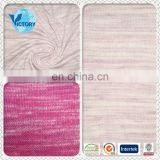 100% Cotton Space Dyed Single Jersey Fabric Knitting Fabric Wholesale for Garment,T-shirts,etc