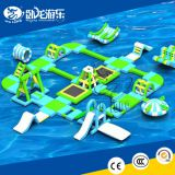 lake inflatable floating water park, inflatable water aqua park for lake