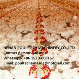 Zimbabwe Poultry Farm Automatic Broiler Chicken Floor Raising System with Nipple Drinker System & Feeding Pan System
