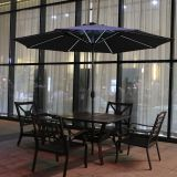 300-8 Market Umbrella with LED straight Light