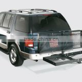 "Hitch Mount folding Cargo Carrier for 2"" Class III/IV Hitch Receivers"