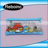 Clear PVC Pencil Packing Bag Plastic Zip Top slider zipper pvc pencil bag for kids                                                                         Quality Choice