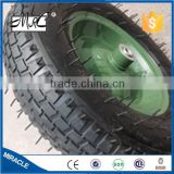 Factory direct manufacture 16 '' industrial rubber wheel go cart wheelbarrow wheel 4.80/4.00-8